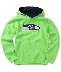 Sweatshirt Seahawks Green Neon Neon Green