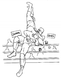 Small Picture 20 Free Printable WWE Coloring Pages EverFreeColoringcom