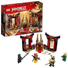 LEGO Ninjago Throne Room Showdown 70651 - Walmart.com - Walmart.com