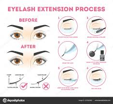 Fake Eyelash Size Chart Vector Eyelashes Eps Files Eyelash Extension Guide For