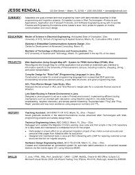 Electrical Engineering Intern Resume New Msw Sample Resume