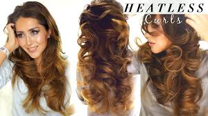Hair Style Curling 2 lazy heatless curls overnight waves hairstyles hacks 5340 by wearticles.com