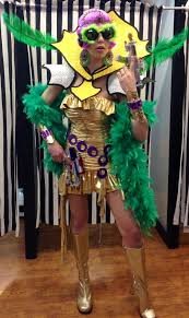 Awesome Really Crazy Sc 1 St Footprints To Fitness. Image Number 24 Of Best Mardi  Gras Costumes ...