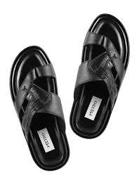 black leather sandals 10824477 zoom image 4