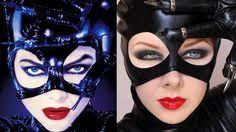 transforming into catwoman makeup tutorial