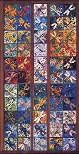 ASGLA Dragonfly Quilt & Many members of our Association contributed Dragonfly squares that were  incorporated into our community quilt. Adamdwight.com