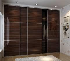 Laminate Bedroom Furniture Wall Wardrobe Design Laminate Wardrobe Designs In Black Bedroom