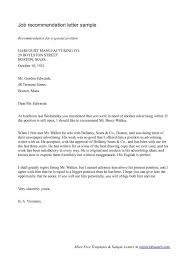 Sample Letter Of Recommendation Employee 9 Employee Reference Letter Examples Samples In Pdf 1703738003411