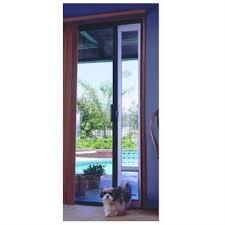 patio panel pet door dog cat sliding glass flap exterior