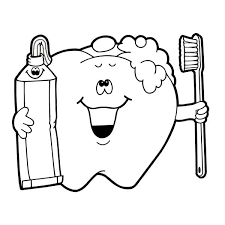 Small Picture Brushing Teeth Coloring Pages Mobile Coloring Brushing Teeth