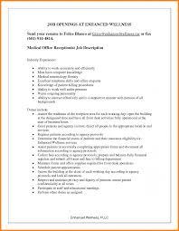 Medical Secretary Job Description Medical Secretary Sample Resume Sevte 20