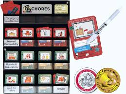 Household Chore Chart Neatlings Chore System Chore Chart For Kids 80 Chores For