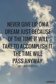 Never Give Up On Dreams Quotes