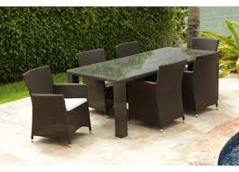 brown set patio source outdoor. source outdoor st tropez 6 piece dining set brown patio a