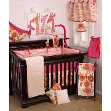 cotton tale designs sun pink ikat 4 piece crib bedding set