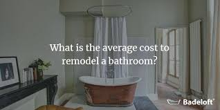 what s the average cost of a bathroom remodel in 2018