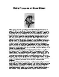 essays mother teresa thesis please do my homework for me <b>essays< b> on <b>mother< b