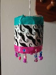 diy locker chandelier