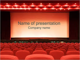 Movie Powerpoint Template Empty Cinema Powerpoint Template Infographics Slides