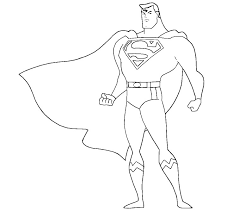 If you want colored picture to print then click print link for color. Printable Superman Coloring Pages Coloringme Com