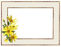 frame border. Beautiful Border Frame Border Yellow Flower Intended Frame Border E