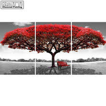 picture red tree