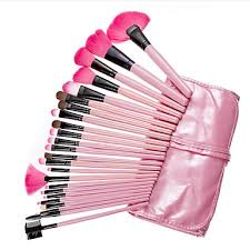 yzimeng 24pcs pink makeup brush set blush eyeshadow concealer powder synthetic hair full coverage beauty care make up for face 5065254 2018 23 99