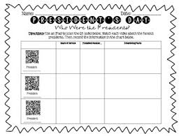 Race Codes Chart Presidents Day Freebie Research Race And Opinion Writing