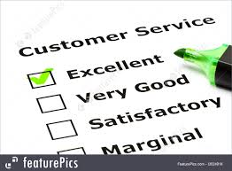 Customer Service Evaluation Form Picture