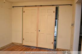 diy rolling barn door style doors