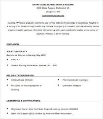 Entry Level Resume Template Gorgeous 60 Entry Level Resume Templates PDF DOC Free Premium Templates