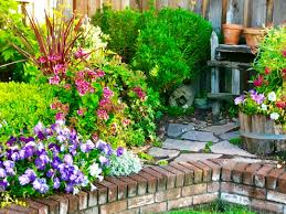 Landscape Pre Planned Garden Designs Garden Vignettes Finegardening