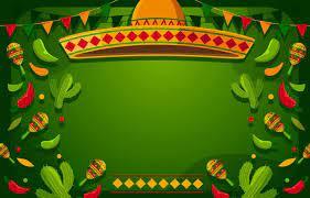 Fun Green at Cinco De Mayo Background ...