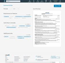A resume builder for LinkedIn – Ashley Herr