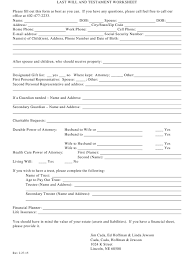 When someone passes away, the most recent will they wrote is taken to be their final will. Free Last Will And Testament Templates By State Create Pdf Online Templateroller
