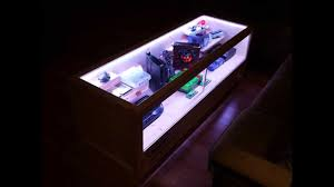 Rectangle Ultra Modern Glass Gaming Coffee Table With LED Lighting Designs  Ideas As Living Room Sets Full Hd Wallpaper Photos Gaming Coffee Table  Ideas High ...