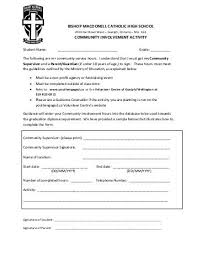 Community Service Form Adorable RRHS Community Service Form For 4444 Round Rock ISD