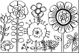 Coloring Pages For Flowers Free Coloring Pages For Girls Flowers