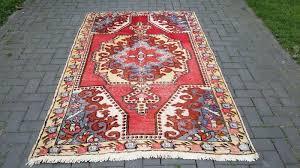 hand knotted turkish rug 228 cm x 138 cm turkey