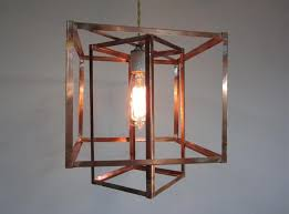 unusual lighting ideas. unusual caged copper pendant light fixture for barn house living room lighting ideas