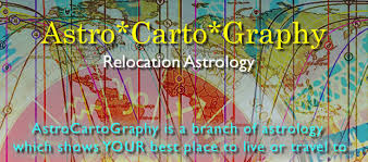 Astrocartography Chart Astrocartography Readings Relocation Astrology Maya