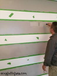 diy painting wall stripes