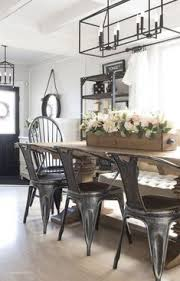 dining room chandeliers to brighten up your thanksgiving decorations metal farmhouse chairsmetal