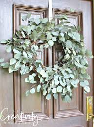 easy diy eucalyptus wreath the creativity exchange