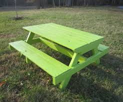 Manly Pallet Picnic Table Pallet Furniture in Furniture Made From Pallets