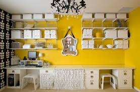 how to add splashes of color to your home office add home office