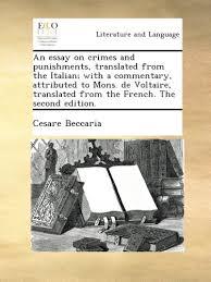 cesare bonesana marquis of beccaria italian books