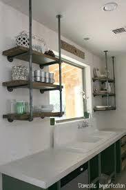 rustic open kitchen shelving floating shelves for dishes industrial pipe open floating shelves for kitchen dishes chunky