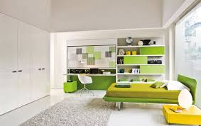 green kids room ideas white and green