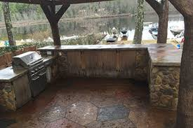 Outdoor U Shaped Kitchen For Madison Wisconsin
